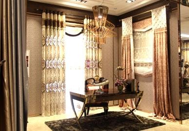 寐莎窗簾軟裝布藝——產品展示